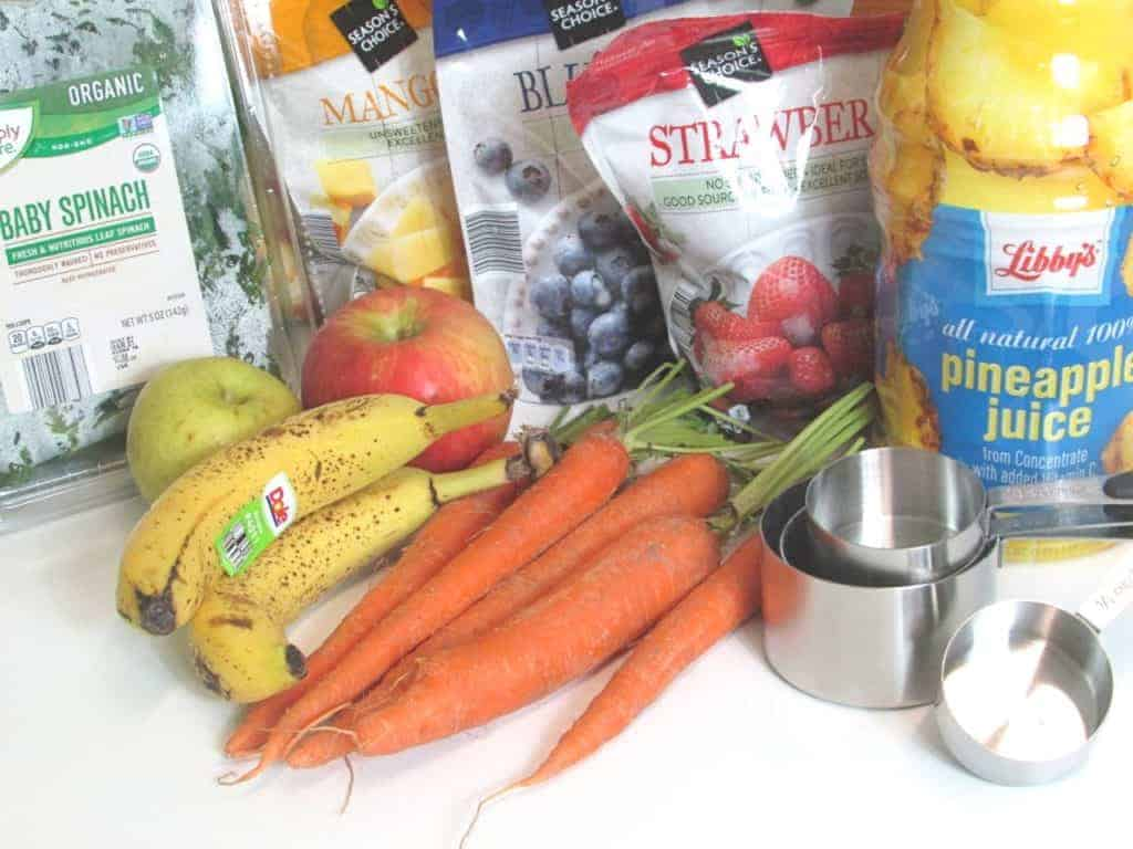 Easy Healthy Spring Smoothies