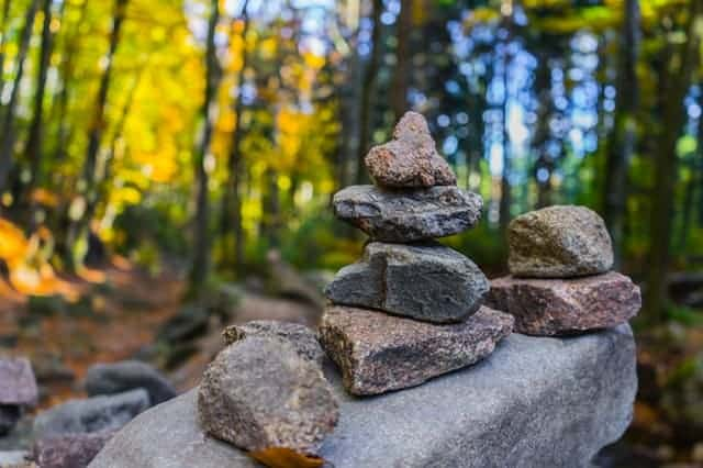 rock collection on parenting journey