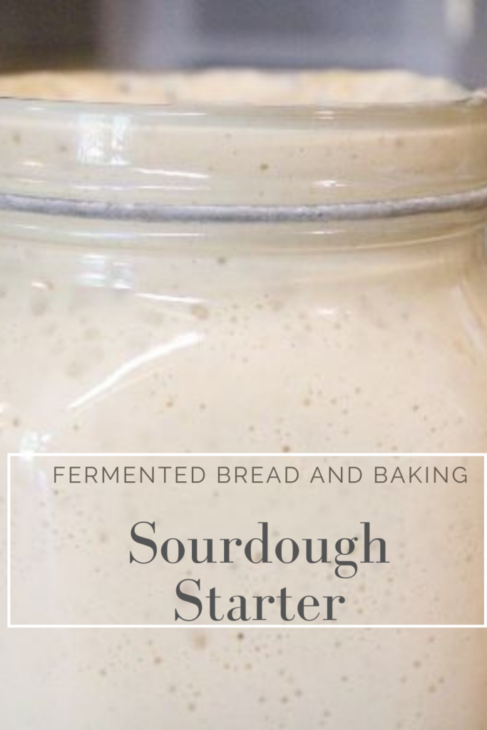 How To Make Sourdough Starter For Fermented Bread And Baking