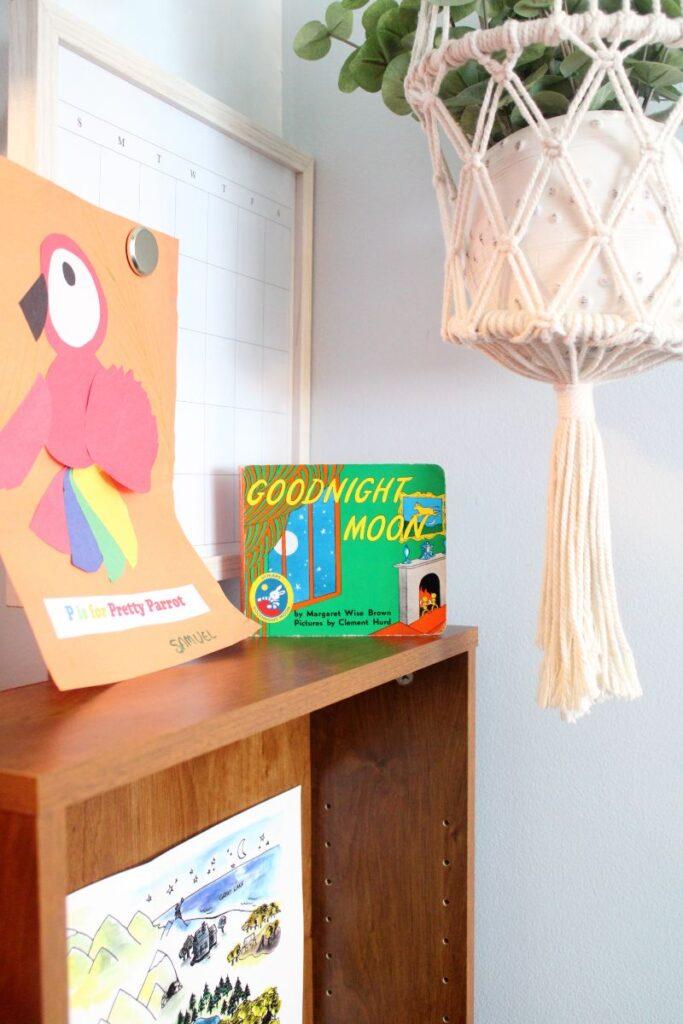 creating a space for a fun and easy preschool homeschool.