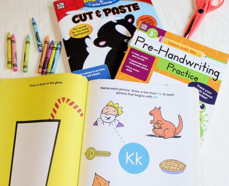 workbooks for a fun and easy preschool homeschool schedule