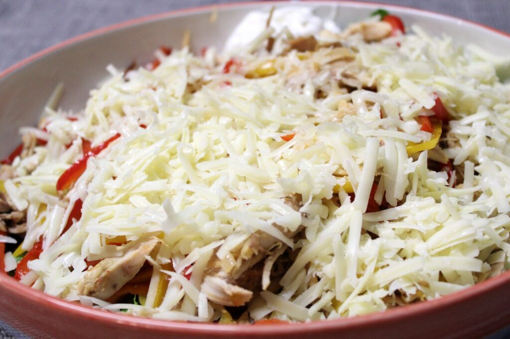 Chicken Fajita Salad Bowl